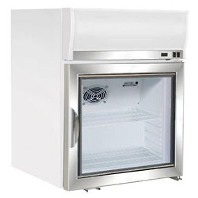 Maxx Cold MXM1-2.5F Reach In Freezer Countertop Glass Door Merchandiser by MAXX Cold