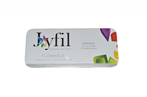 3D Dental JF-A2 Joy-Fil Flowable Composite Refill, Shade A2, 2 g (Pack of 4)