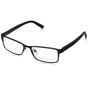 Armani Exchange AX 1003 Men's Eyeglasses Satin Black 52