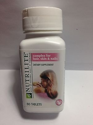 NUTRILITE? Complex for Hair, Skin and Nails 60 tabs x 3 Bottles by Nutrilite