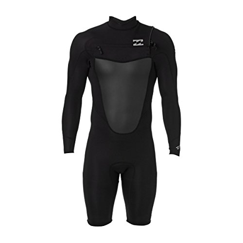 Billabong male Foil 2mm Shorty Wetsuit, Black, Large