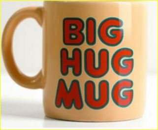 Big Hug Mug 22 Ounces Ceramic Coffee Cup Mug - Big Hug