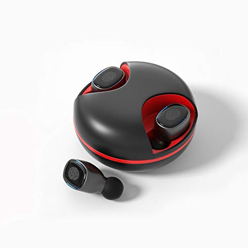 Wireless Earphones Earbuds for Girls Fasion True Wireless TWS in-Ear Headphones Bluetooth 5.1 Stereo with UFO Rotatable Cover Charging Case Waterproof 25H Playtime Built-in Mic with Touch Control