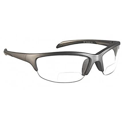 d8351a2b9f Bifocal Safety Glasses with Polycarbonate Clear Lens +1.5 Power Diopter -  Eye Protection Equipment - Amazon.com