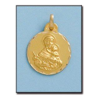 Médaille D'or 18kt San Antonio 19mm