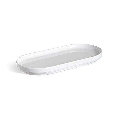 Bathroom Plate (Umbra Step Amenity Tray, White)