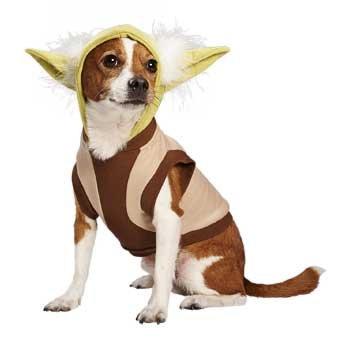 STAR WARS Yoda Dog Hoodie, X-Large