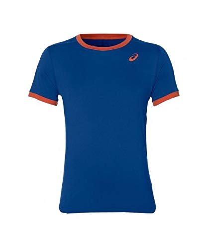 ASICS Camiseta Club SS Top Azul