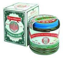 (Five Pagodas Ya-Hom Powder Medicine Original Thai Herb,25g.for Stomach,Relief)