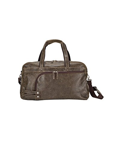 GOODHOPE Bags The Icon Leather Duffel, Brown by GOODHOPE Bags