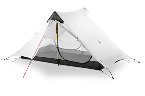 3F UL Gear Super Lightweight 2 Person 3 Season Backpacking Waterproof Tent Without Trekking Pole