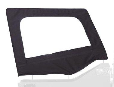 Soft Upper Doors (Rampage Products 89735 Diamond Black Door Skins for Soft Upper Door)
