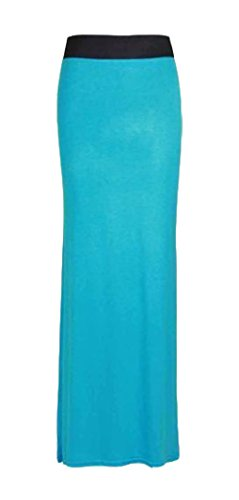 Turquoise GUBA GUBA Femme Jupe Jupe qvZIY6x0w
