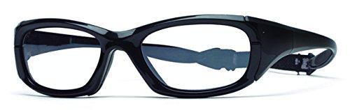 Rec-Specs Maxx 30 Eyewear in Shiny Black - Size Medium by Rec Specs