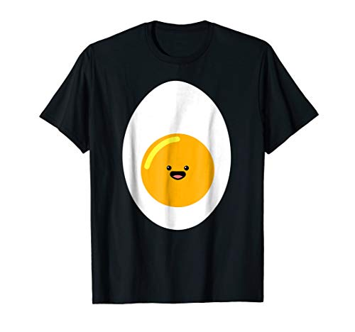 Kawaii Egg Shirt, Cute Hard Boiled Deviled Egg Costume]()