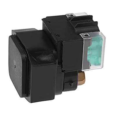 Starter Solenoid Relay Switch for Yamaha Grizzly 550 YFM550 2009-2014, 700 YFM700 2007-2014 Replace# 3B4-81940-00-00: Automotive