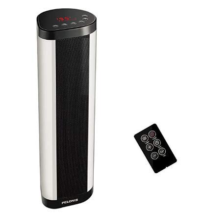 PELONIS Ceramic Tower Heater, Oscillating Heater, Home Use