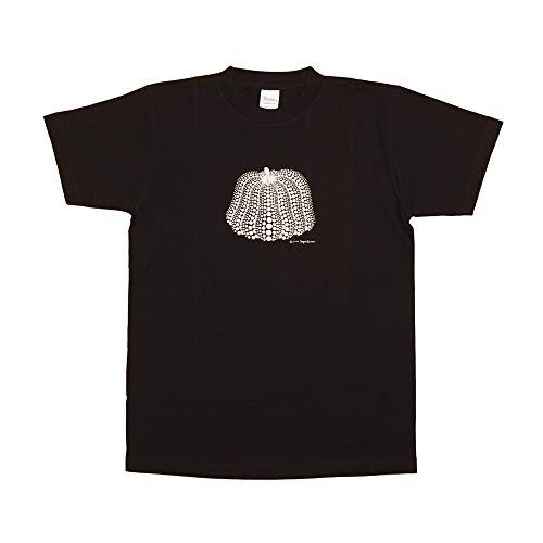 突き出す外出子音草間彌生 Tシャツ [かぼちゃ(ブラック/S)]