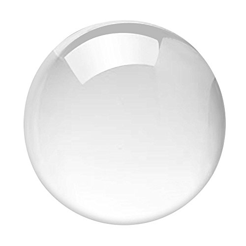 Duosuny Round Glass Artificial Crystal Healing Ball Sphere Decoration (3.15inch, Clear)