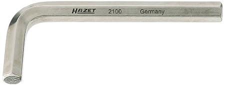 Hazet 2100-05 Cl/é m/âle coud/ée /à 6 pans int/érieurs Taille 5