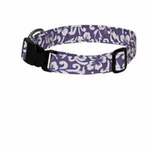 Medium Lavender Hawai'i Time Dog Collar