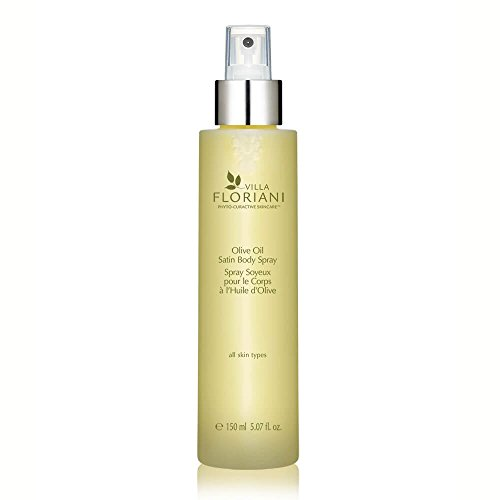 Olive Oil Satin Body Spray Dry-Touch Body Elixir For Silky Smooth Skin Natural Skincare, Body Oil, Rediscovering Natural Beauty, 5.07 fl. oz.