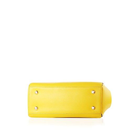Barbie BBFB121 Bolso de Moda Bolso Chulo Elegante Bolso Bandolera y de Mano amarillo