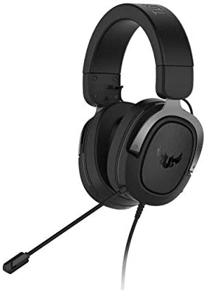 ASUS TUF H3 Gaming Headset H3 – Discord, TeamSpeak Certified  7.1 Surround Sound   Gaming Headphones with Boom Microphone for PC, Playstation 4, Nintendo Switch, Xbox One, Mobile Devices
