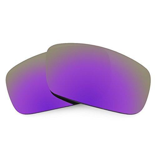 Verres de rechange pour Spy Optic Logan — Plusieurs options violet MirrorShield® - Polarisés