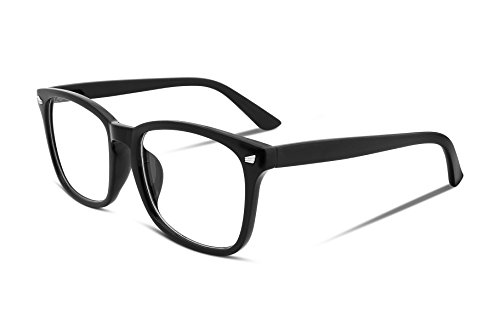 FEISEDY Cool Square Optical Glasses Frame Men Womens Eyewear Frame - Frames For Cool Glasses