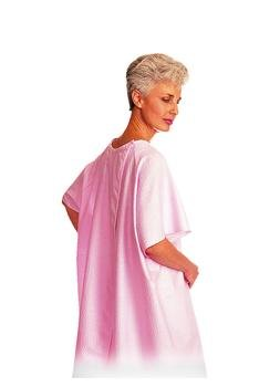SnapWrap Deluxe Gown - Color Pink Plisse
