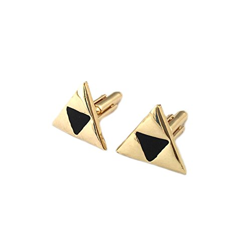 The Legend Of Zelda Triforce Heroes Costumes (Legend of Zelda Triforce Men's Groomsmen Cuff Links w/Gift Box by Superheroes)