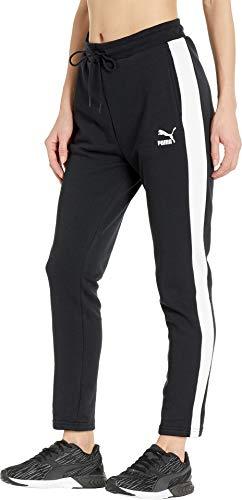 Donna Black Pantaloni Tuta Puma Da Cotton gHdABcAvR