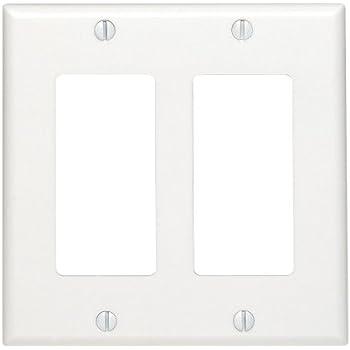 Leviton 80401 W 1 Gang Decora Gfci Wallplate Standard