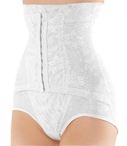 ShaperQueen 1010 Women Best Waist Cincher Girdle Belly Trainer Corset Body Shapewear (XXL, White)
