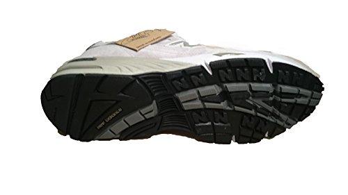 New Balance - Zapatillas de ante para hombre blanco blanco perla (ral 1013)