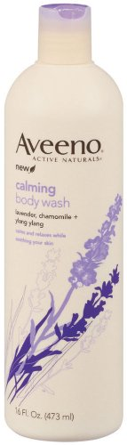 Aveeno Positively Nourishing Aveeno Calming Body Wash, 16 ounces  (Pack of 3)