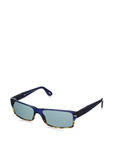 Persol Mens Sunglasses (PO2747) Tortoise/Blue Acetate - Polarized - 57mm (Sunglasses Polarized Brown 57)