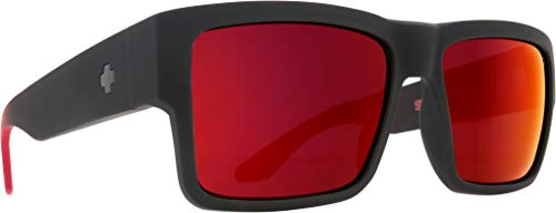 CYRUS SOFT MATTE BLACK/RED FADE - HAPPY GRAY GREEN W/RED ()