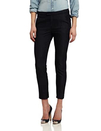 7 For All Mankind Women's Slim Chino in Drapey Rinse, Drapey Rinse, 24