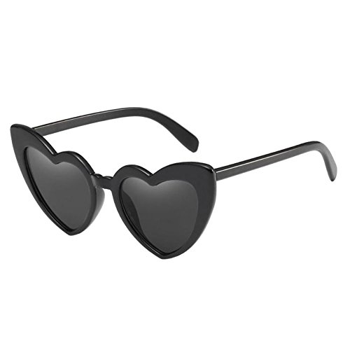 Meijunter Cat Eye Heart Shaped Sunglasses Anti-UV Polarized Eyeglasses - Heart Eyeglasses Shaped For Faces