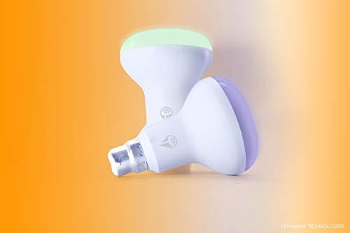 Vithamas GloSmart 12 Watts Bluetooth Smart RGB LED Bulb