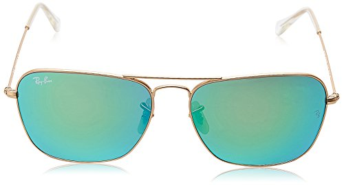 Ray-Ban 3136 11219 Matte Gold 3136 Square Aviator Sunglasses Lens Category 3 Le