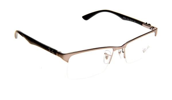 8b886682d7 Amazon.com  Eyeglasses Ray-Ban Vista RX 8411 2714 MATTE GUNMETAL GUNMETAL   Clothing
