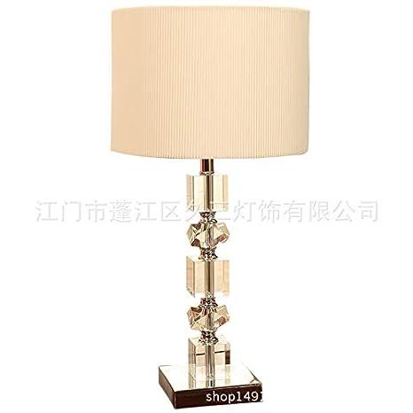 AFGD Lampara De Mesa Tuda American Style K9 Lámpara De Mesa ...
