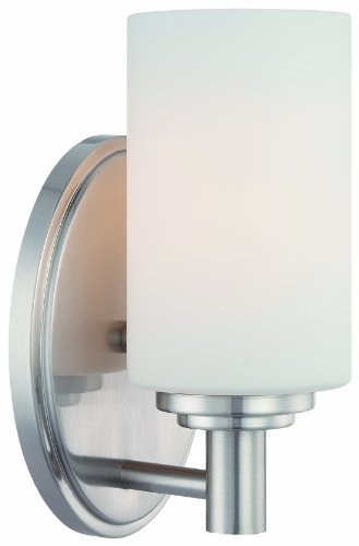 Thomas Lighting 190023217 Pittman Bath Light, Brushed Nickel