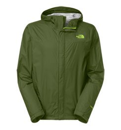 North Face Venture Jacket - Men's Green/Green X-Large by The North Face