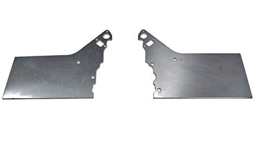 LSX Front Engine Plate 2 piece Aluminum Chevy Solid Motor Mount Block LS LS1 551803