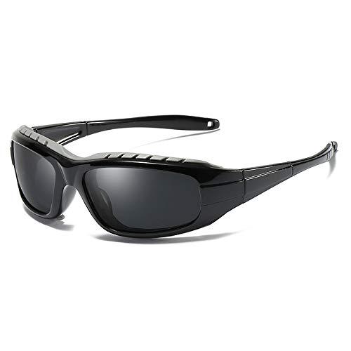 Windshield Sports Sol Gafas Gafas de Protectoras box Mjia Black Black 2 polarizadas sunglasses Deportivas Box 1 Gafas nbsp;UV400 Hombre 8FS1nBzqwC