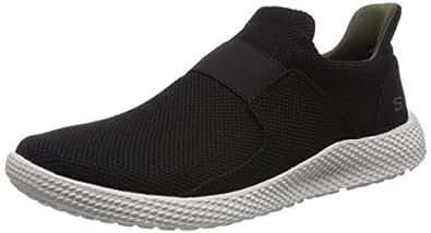 Skechers Men's Relsen - Pencer Sneaker Black Size: 9 US